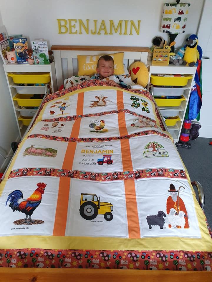 Photo of Benjamin N's quilt