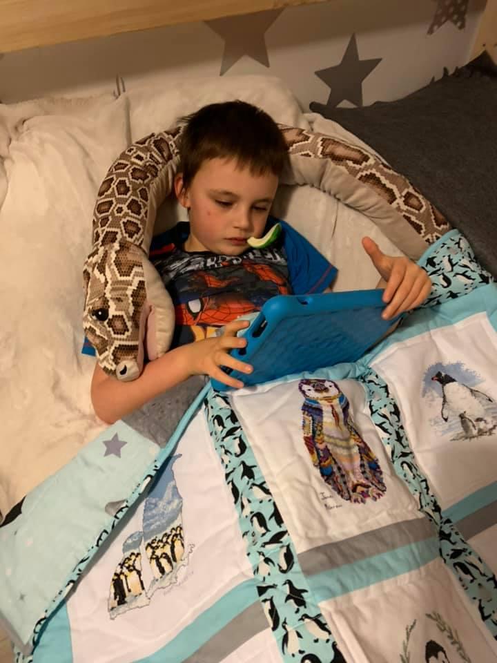 Photo of Kayden S's quilt