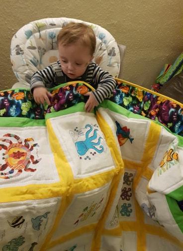 Photo of Reuben S's quilt