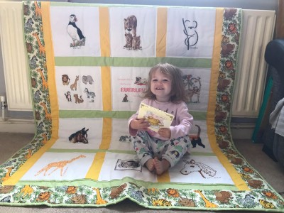 Photo of Everley's quilt