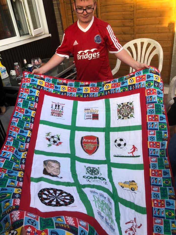 Photo of Connor M's quilt
