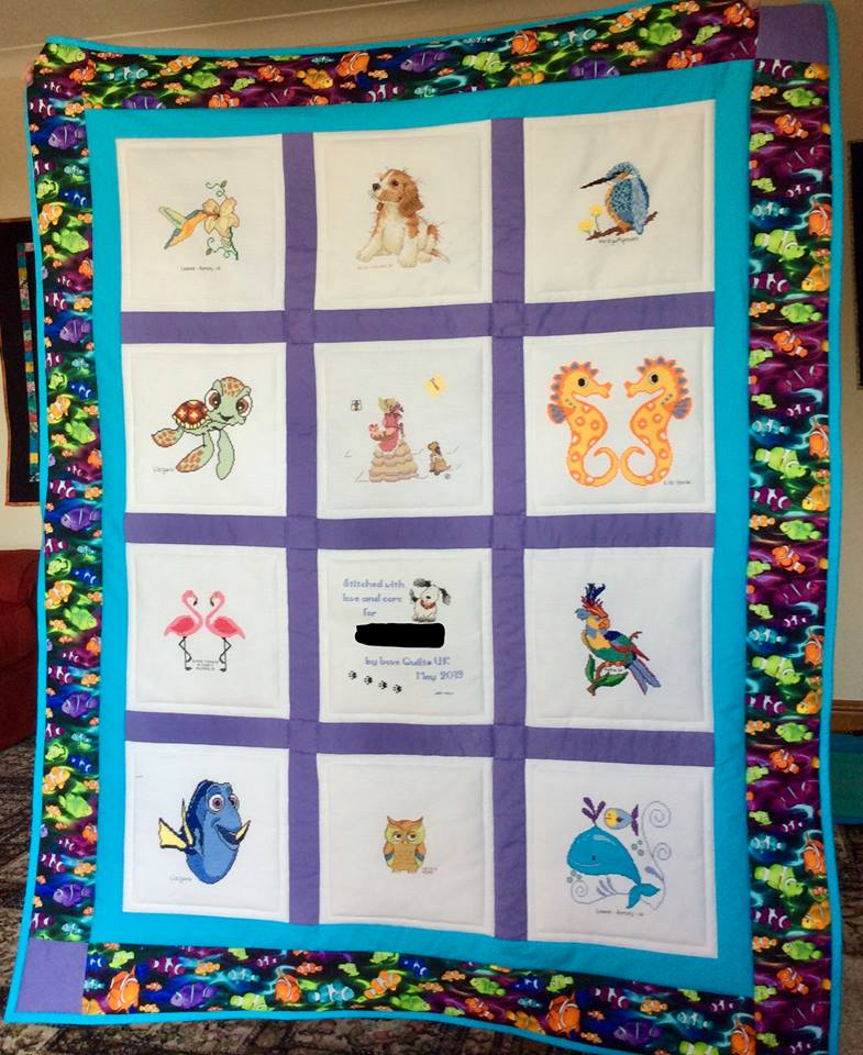 Photo of K's quilt