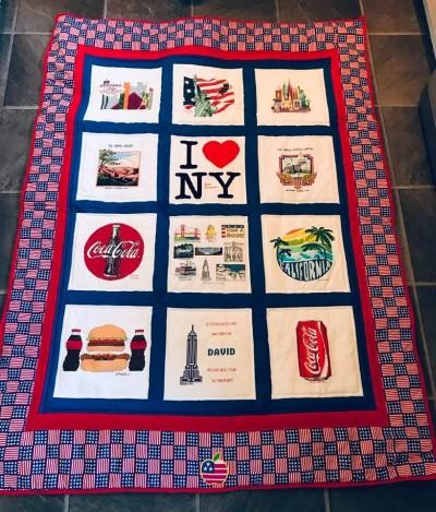 Photo of David B's quilt