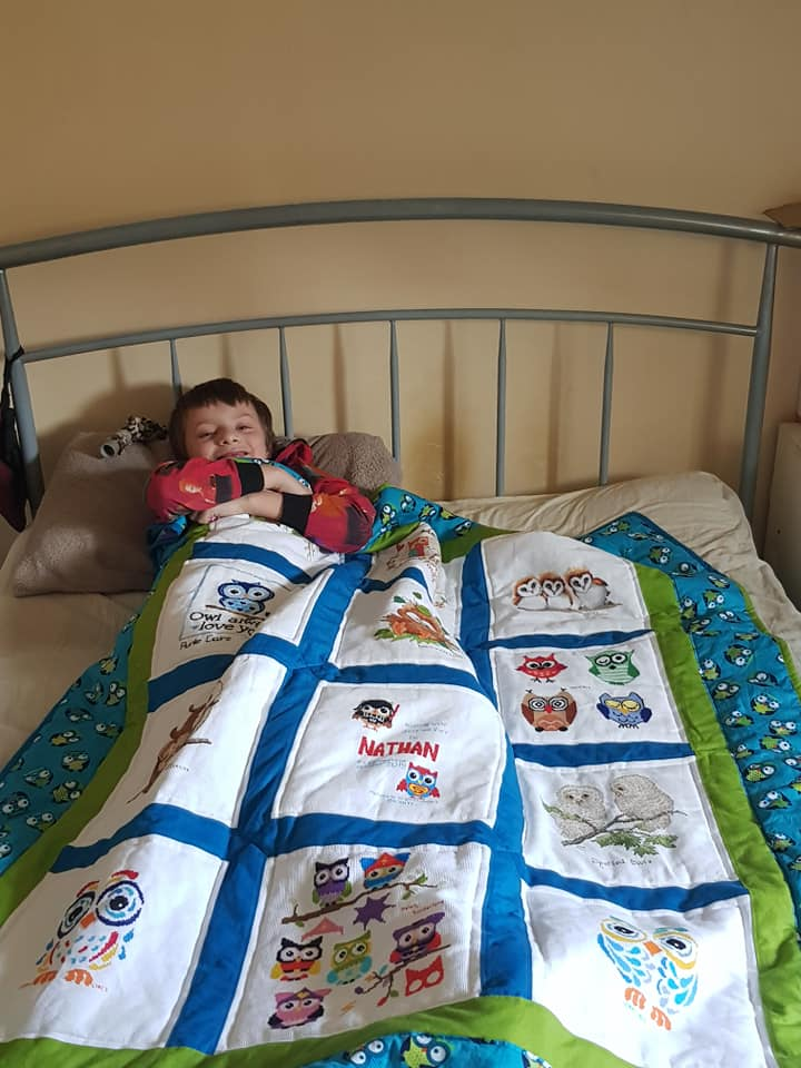 Photo of Nathan W's quilt
