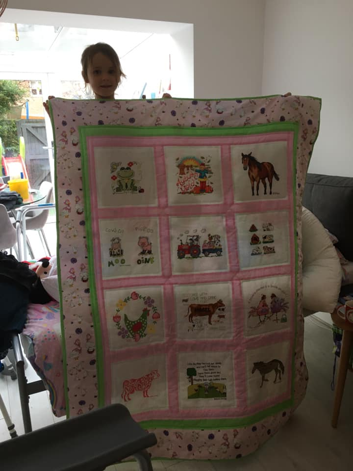 Photo of Mabel E's quilt