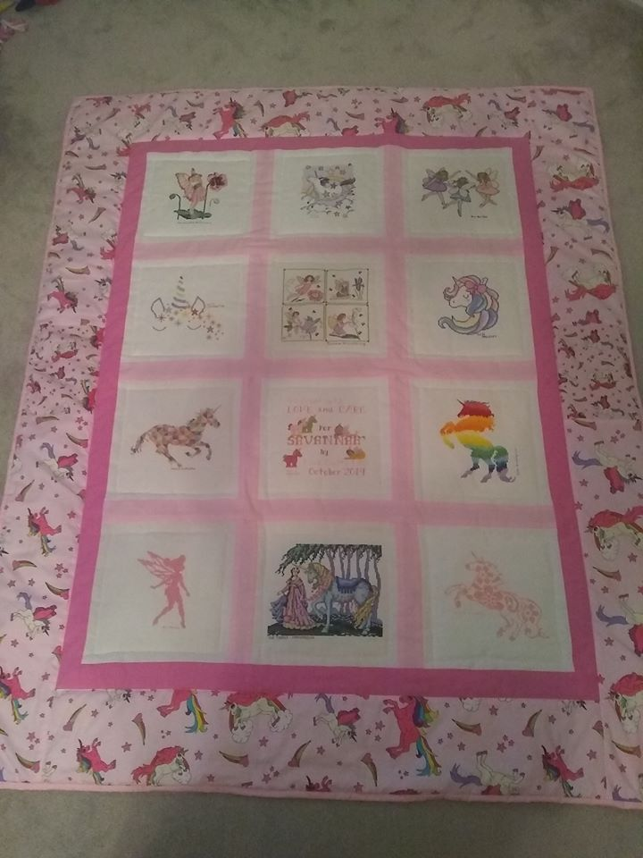 Photo of Savannah's quilt