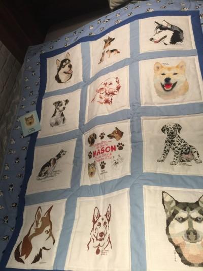 Photo of Mason B's quilt