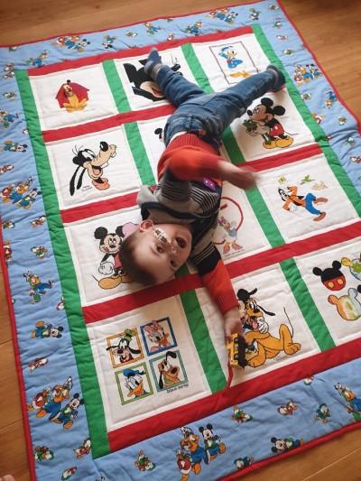 Photo of Alfie G's quilt
