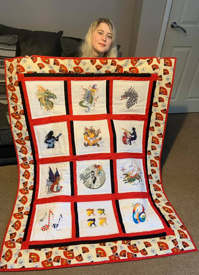 Photo of Katie A's quilt