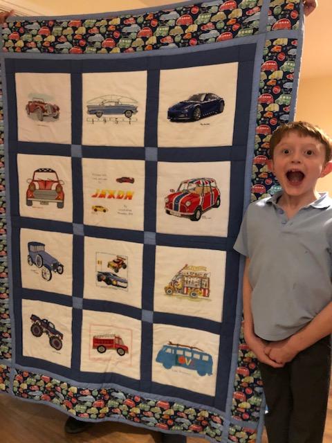 Photo of Jaxon G's quilt
