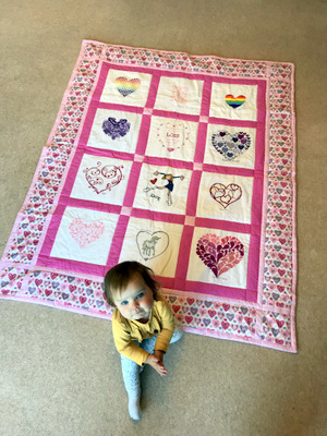 Photo of Lois B's quilt