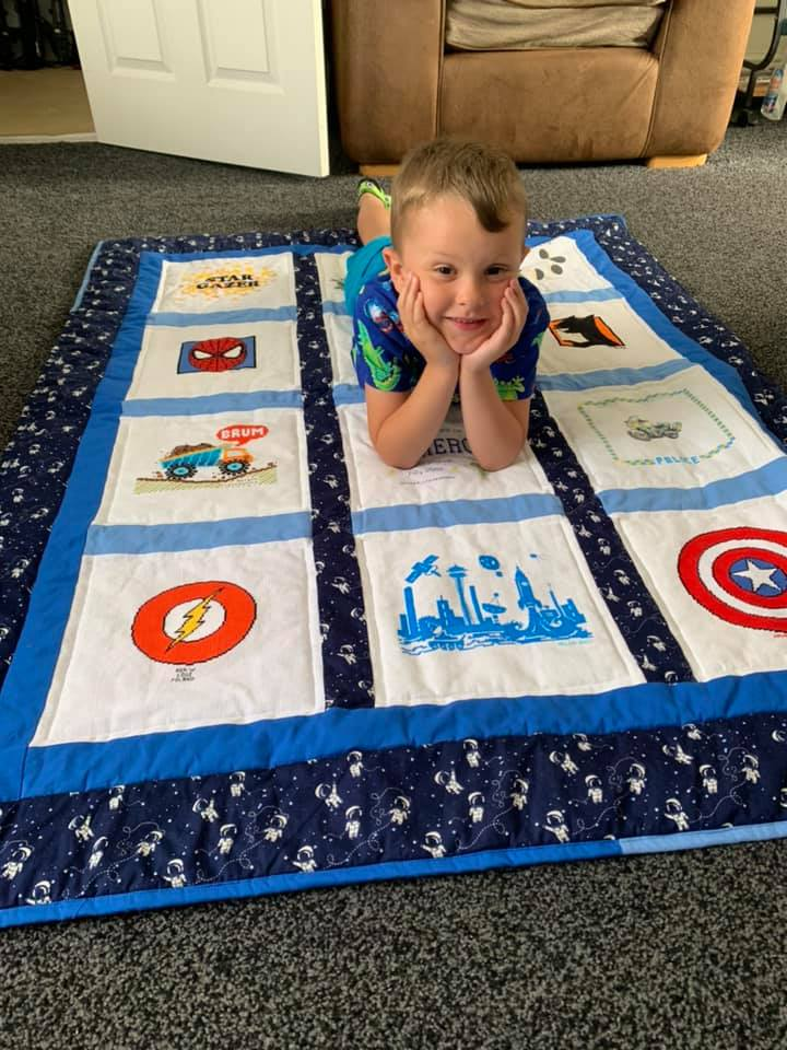 Photo of Cameron A's quilt