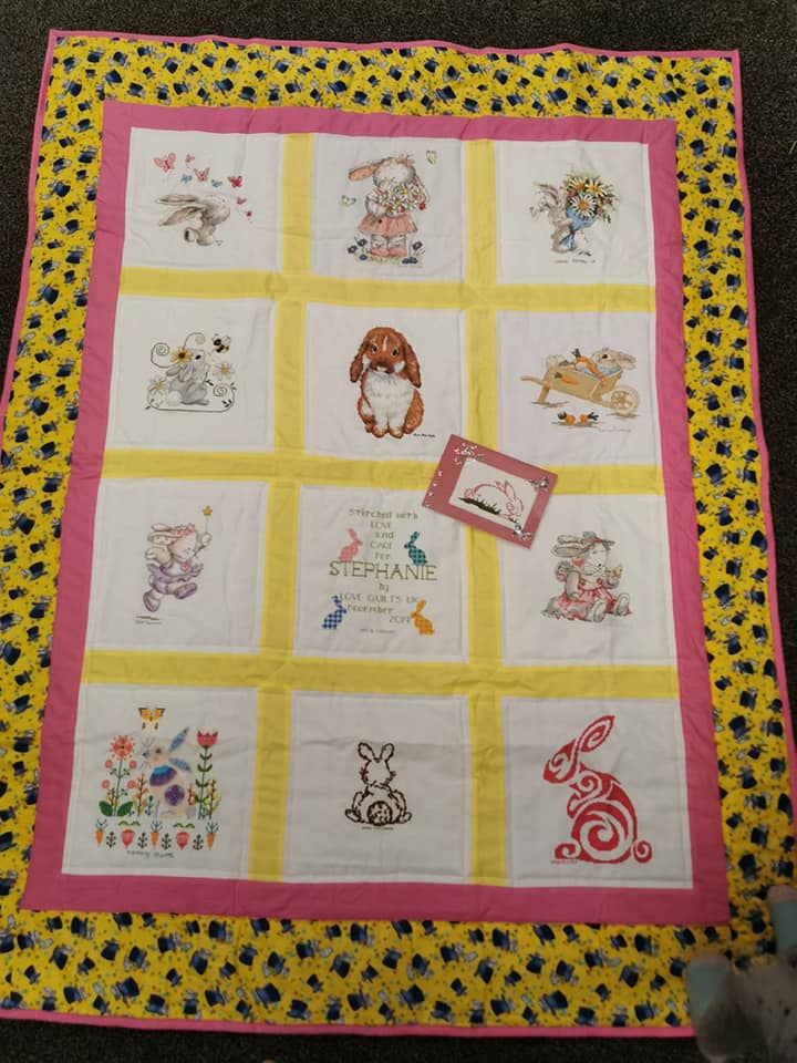 Photo of Stephanie C's quilt