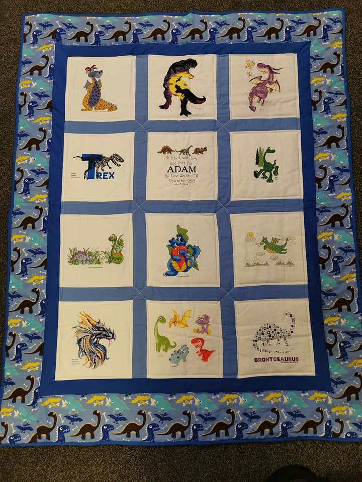 Photo of Adam C's quilt