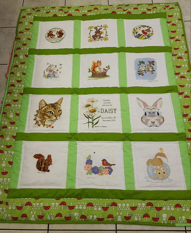 Photo of Daisy C's quilt