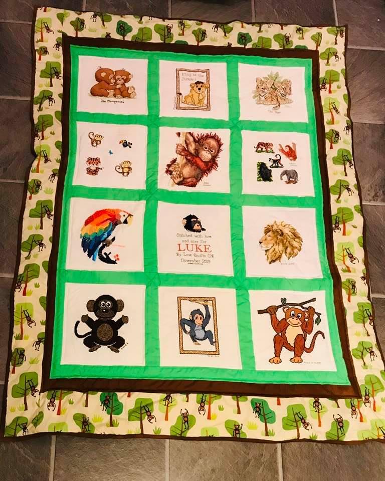 Photo of Luke H's quilt
