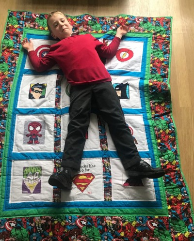 Photo of Jacob A's quilt