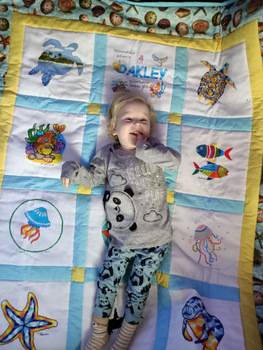 Photo of Oakley P's quilt
