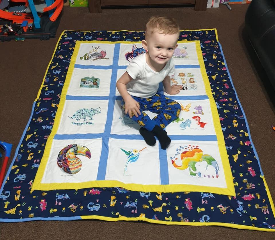 Photo of Kobi B's quilt