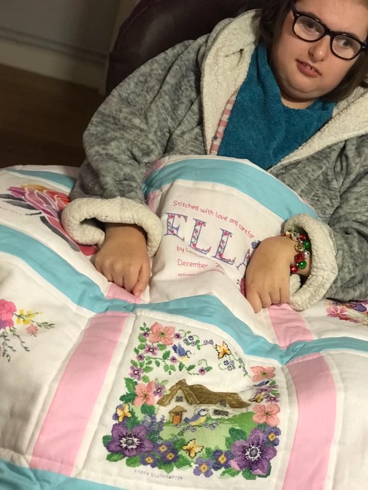 Photo of Ella M's quilt