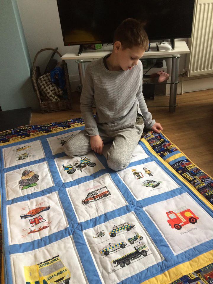 Photo of William C's quilt
