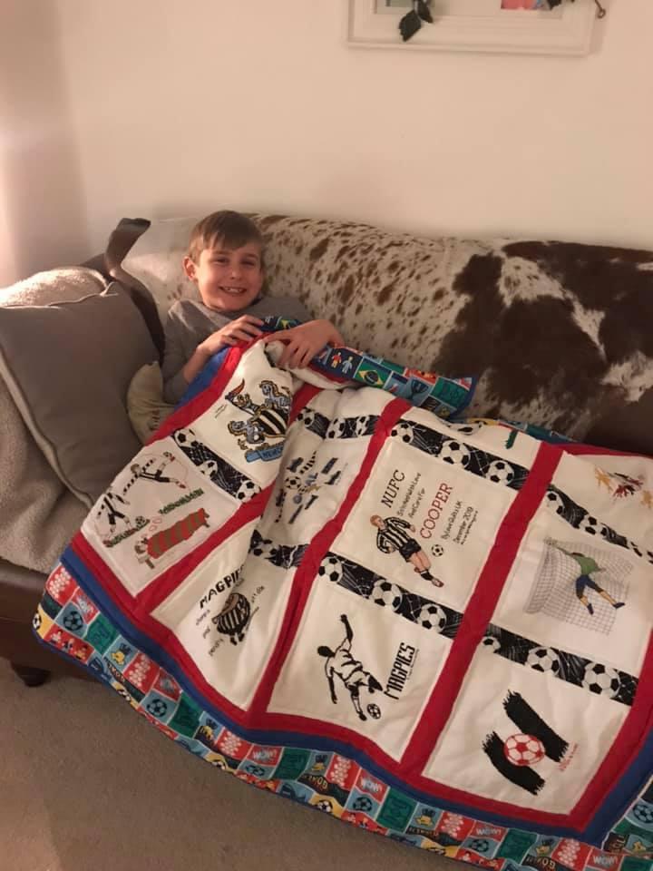 Photo of Cooper R's quilt