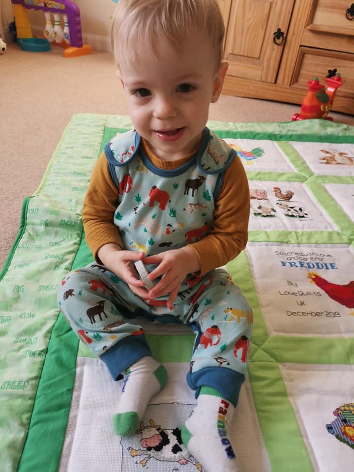 Photo of Freddie's quilt