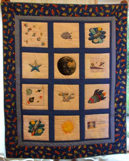 Photo of Harry X's quilt