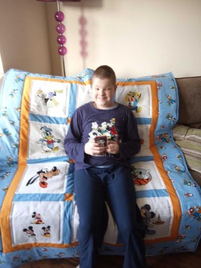 Photo of Liam S's quilt