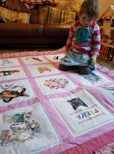Photo of Freya B's quilt