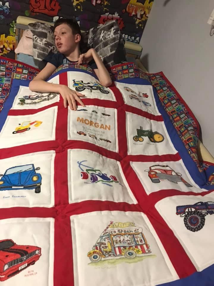 Photo of Morgan L's quilt