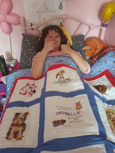 Photo of Isobelle W's quilt