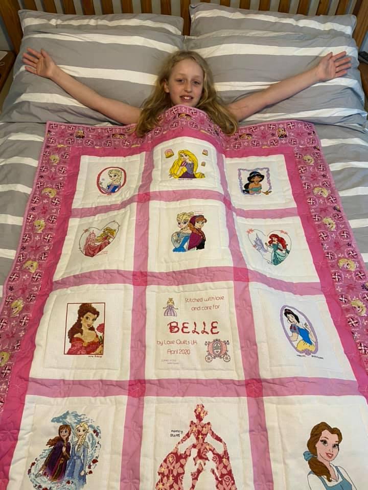 Photo of Belle J's quilt