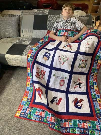 Photo of Jayden G's quilt