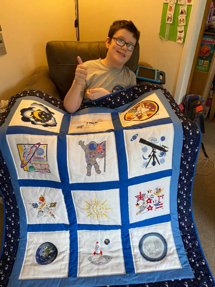 Photo of Jack C's quilt