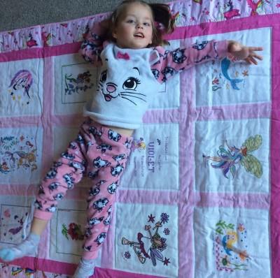 Photo of Violet J's quilt