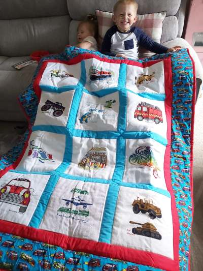 Photo of Oscar H's quilt