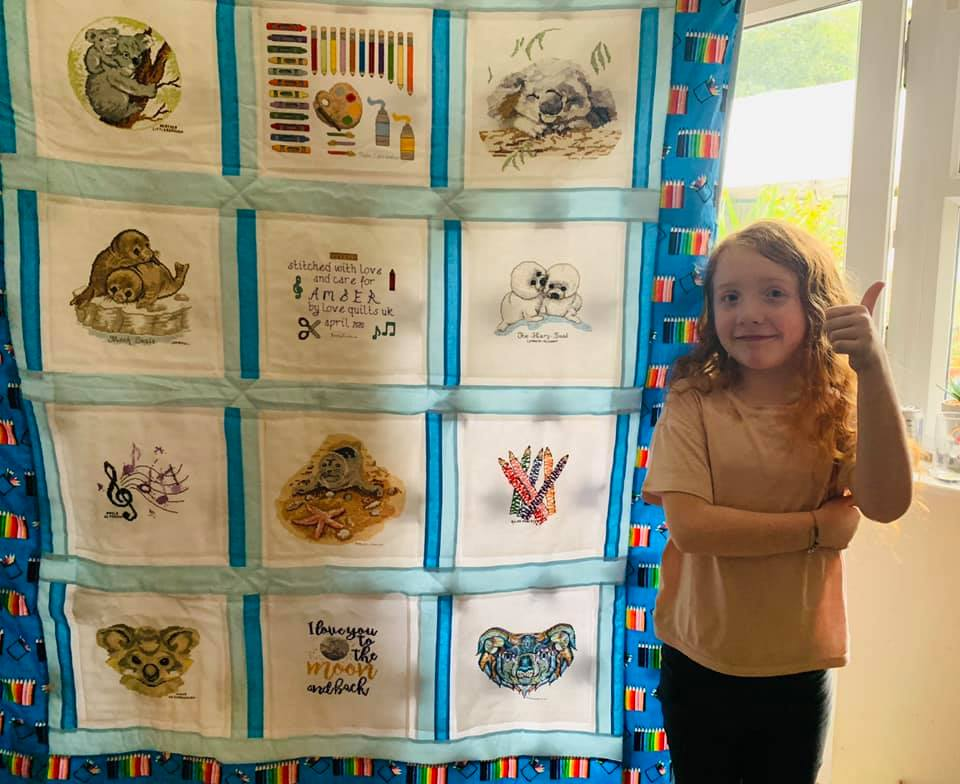 Photo of Amber P's quilt