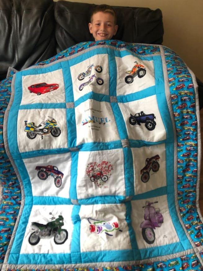 Photo of Samuel G's quilt