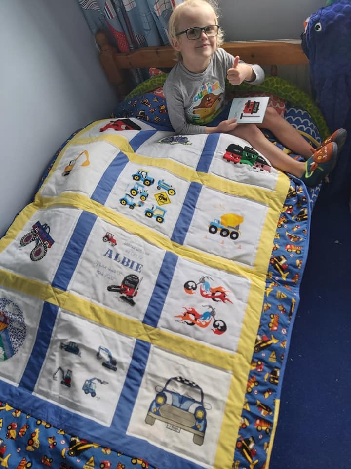 Photo of Albie T's quilt