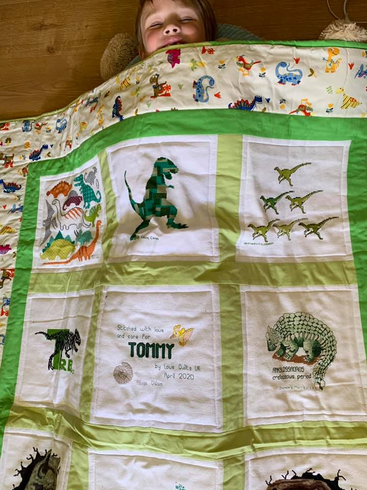 Photo of Tommy P's quilt