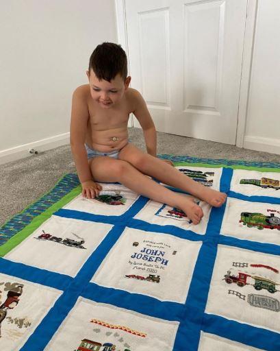 Photo of John Joseph A's quilt