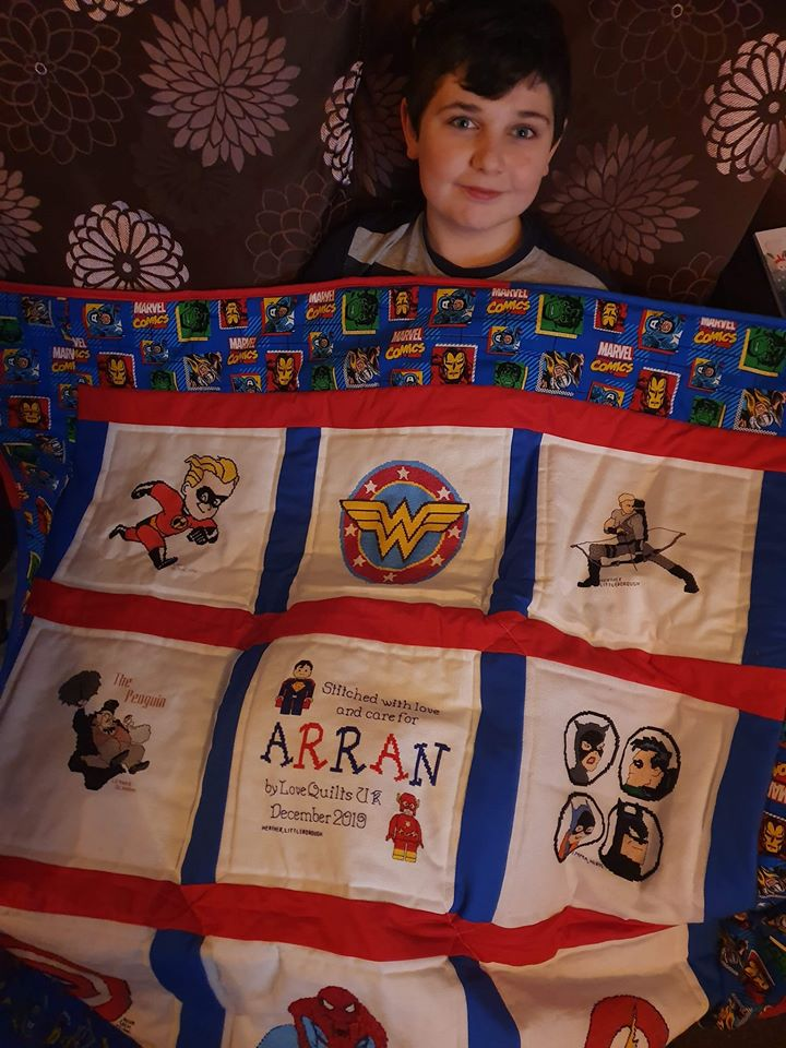 Photo of Arran C's quilt