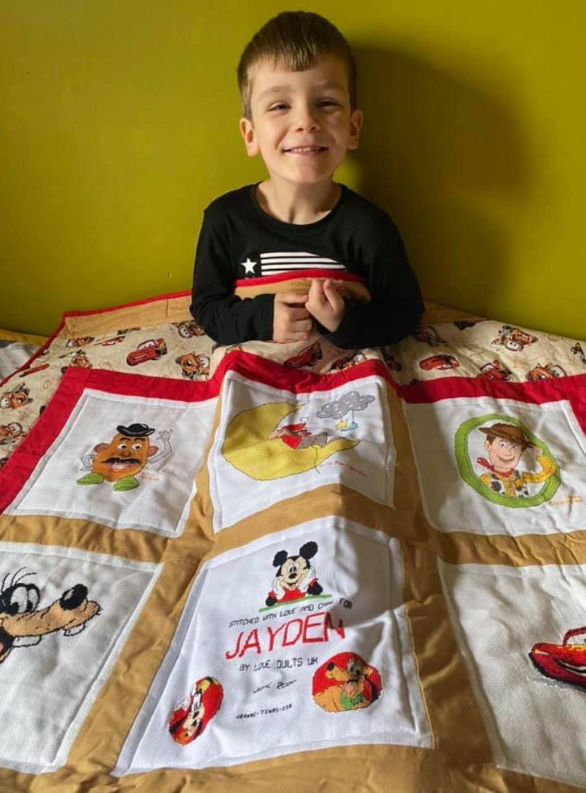 Photo of Jayden A's quilt