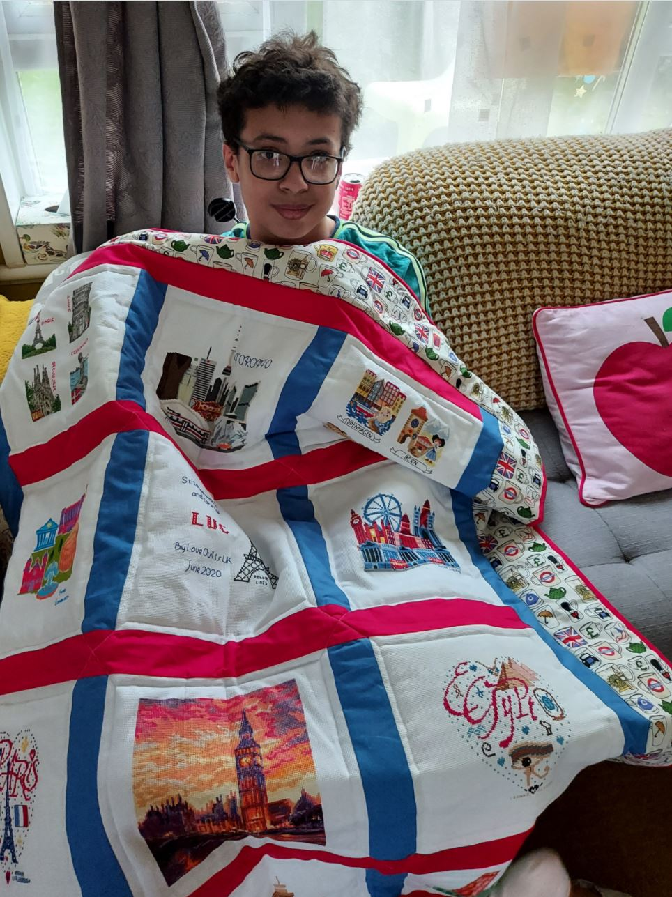 Photo of Luc T's quilt