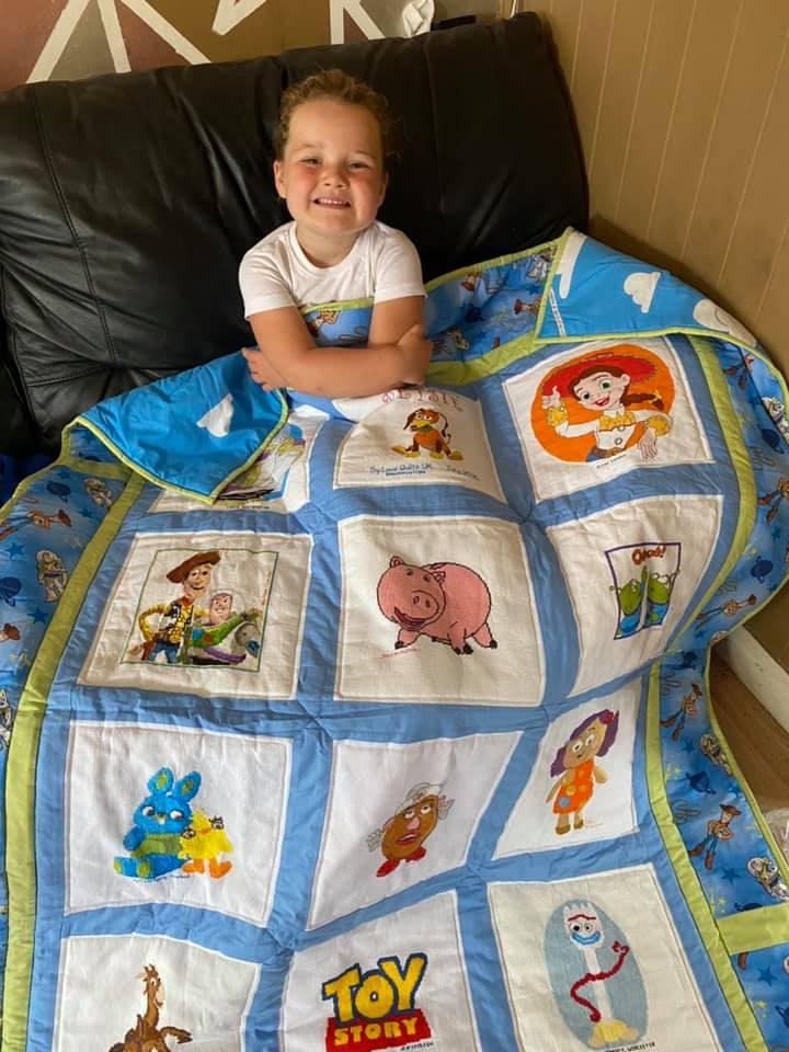 Photo of Betsie E's quilt