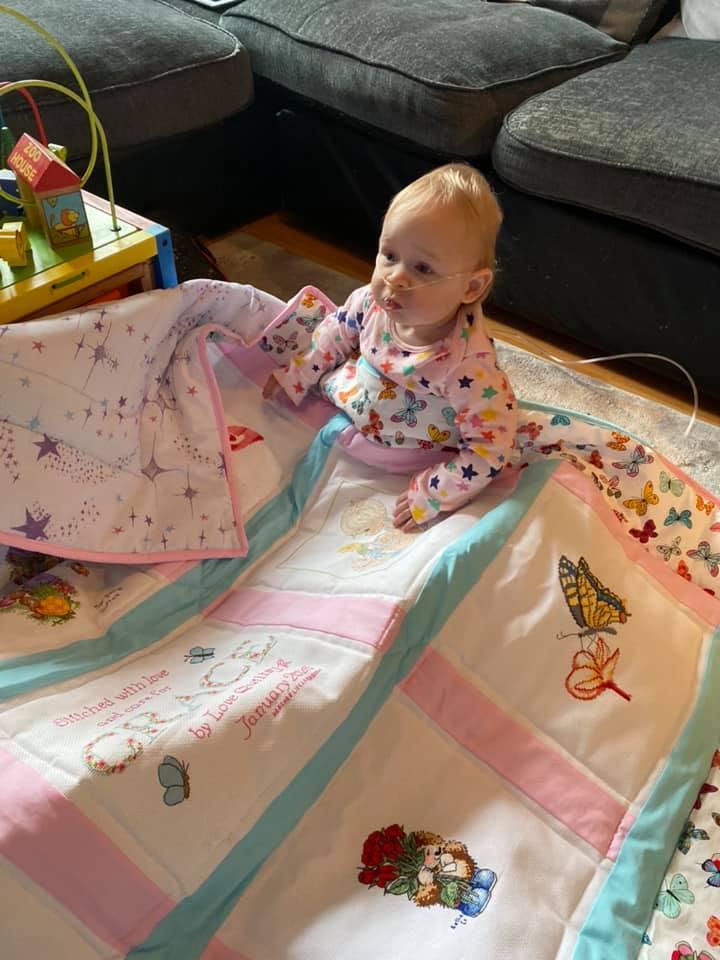 Photo of Grace's quilt