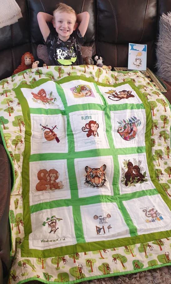 Photo of Kian D's quilt