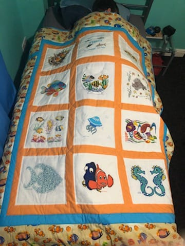 Photo of Theo W's quilt