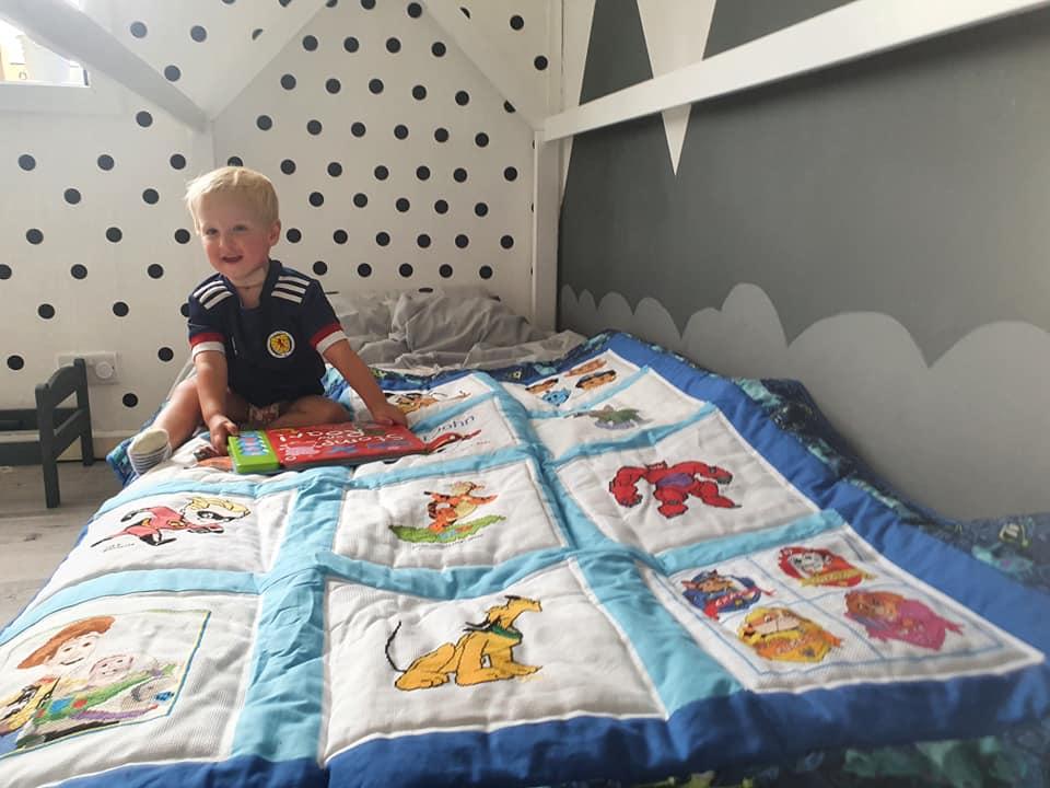 Photo of Kai John W's quilt